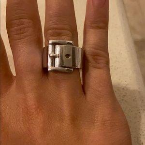 Michael Kora buckle ring